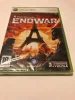 😍 jeu xbox 360 / one pal fr neuf blister tom clancy's endwar + commande vocale