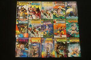 MARVEL COMICS LOT OF 15 WOLVERINE COMICS (8)