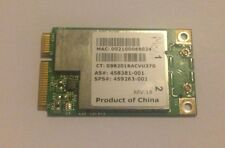 HP 6735S DV2500 Laptop Wi-Fi Wireless Card 459263-001 458381-001 BCM94312MCG