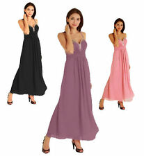 Chiffon Hand-wash Only Formal Regular Size Dresses for Women