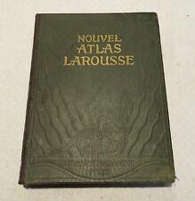 Nouvelle Atlas Larousse 1924 Léon Abensour