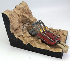THUNDERBIRDS : EXCAVATOR MODEL & DIORAMA MODEL MADE BY KONAMI