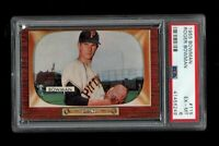 1955 Bowman BB Card #115 Roger Bowman Pirates ROOKIE CARD PSA EX-MT 6 !!!