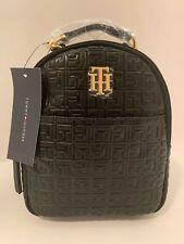 Tommy Hilfiger TH Logo Designer Small Backpack Shoulder Bag Purse New Gift