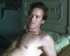 ARMIE HAMMER SHIRTLESS SEXY RARE NEW 8X10 PHOTO YFH 15