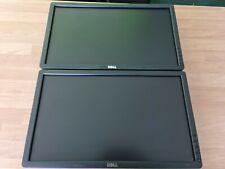 "Joblot 2x DELL P2012HT 20"" Widescreen 1600X900 16:9 Monitor DVI VGA for mounting"