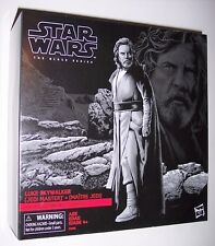 "Star Wars 6"" Black Series LUKE SKYWALKER AHCH-TO ISLAND w/Base Exclusive C8/9"