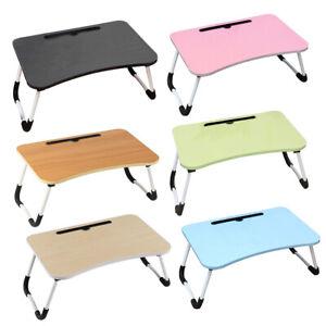 Foldable Bed Tray Lap Desk Dormitory Dining Table Non-slip Leg Kids Mini Table