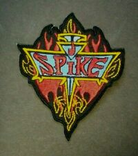"""Spike Logo """"Buffy the Vampire Slayer"""" Embrodiered Patch -new"""