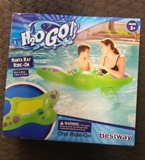 "Bestway Dream Floats Kids Manta Ray Ride On Lounge 59"" x 45"""