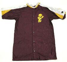 VINTAGE Wilson Mountain Pointe Pride Basketball Jersey Warm Up Snap Button Shirt
