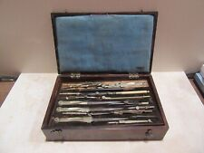Antique Drafting or Calligraphy Set In Box