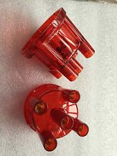 VW Beetle Bug type 1 ignition distributor cap transparent red  0231 178 009