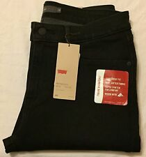 LEVIS Mid Rise Skinny Jeans - Women's 16 Medium / 33 Black NWT