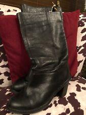 Dr Martens  Parisa Black Leather  Knee High Boots Uk Size 5 Docs