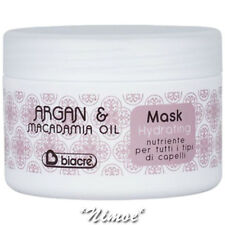Hydrating Mask 250ml Argan & Macadamia Biacrè ® Nourishing, moisturising +Almond