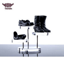 1/6 Soldier Doll Model Scene Accessories High Heel Sneaker Boots Display Stand