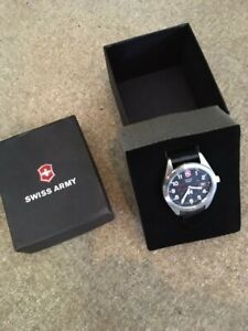 SWISS ARMY Victorinox stainless steel watch, new