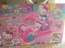 Hello Kitty Sticker Maker Machine