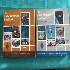 1977 & 1978  ARRL HANDBOOKS    Radio Amateur's Handbook