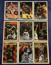 1993-1994 Topps ORLANDO MAGIC Complete Team Set 16 SHAQUILLE O'NEAL 5 Cards WOW