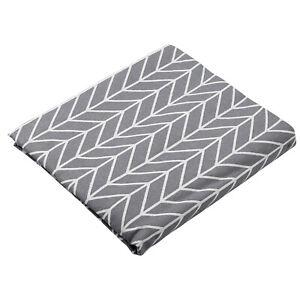 Tischtuch Picknickmatte Tischdecke Abwaschbar Fleckschutz Eckig Lotuseffekt Grau