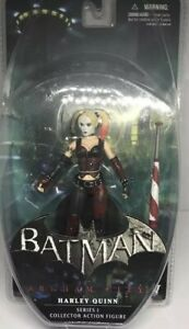 DC Direct Harley Quinn Arkham City Series 1 Action Figure Collectibles (MISP)