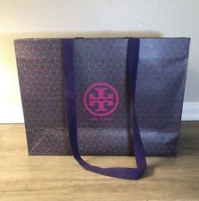 Tory Burch Large Purple Shopping Bag