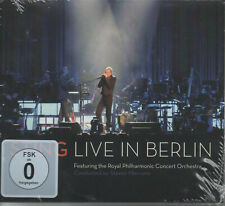 Sting Live in Berlin Feat. Royal Philharmonic Concert Orchestra Doppel CD NEU