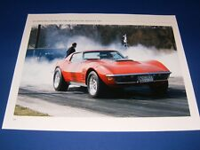 ★★1971 CHEVY CORVETTE STINGRAY 350 BLOWN PHOTO/POSTER 71 72 73 74 STING RAY★★