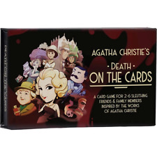 Modiphius   Agatha Christie: Death On The Cards   Murder Mystery Card Game