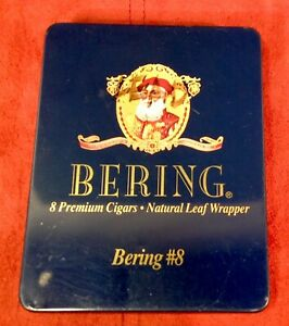 BERING #8 Premium Cigar TIN Collectible