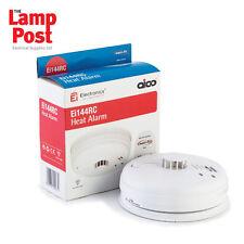 AICO Ei144RC Ei144-Detector de alarma de calor de red + batería Hush