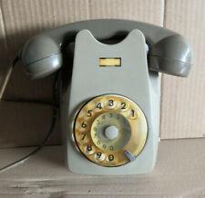 Telefono a rotella DA MURO (VERTICALE) Vintage SIP Originale Molto RARO