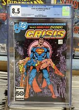 Crisis on Infinite Earths #7, CGC 8.5, DC Comics 1985, Death of Supergirl