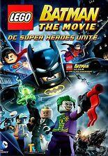 BRAND NEW  DVD // LEGO BATMAN THE MOVIE //  ENGLISH & FRENCH LANGUAGES