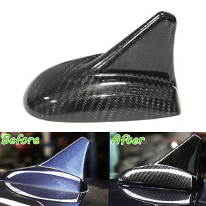 For Quattroporte Ghibli Carbon Fiber Shark Car Top Roof Antenna Cover Shell Trim