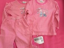 Girls Kids Children Cotton Long sleeves Sleep sleepwear Pajama Sweater *2 +pants