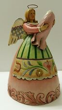 """Jim Shore Angel 2007 GIRL BABY """"Born Into Loving Arms"""" * Perfect For A New Mom *"""