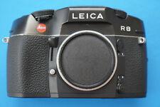 Leica R8 black. Spiegelreflexkamera nur Gehäuse