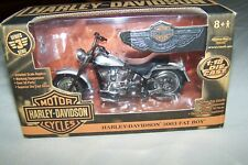 """HARLEY DAVIDSON 2003 """"Fat Boy"""" - American Muscle Series 3 1:18 Scale - New"""