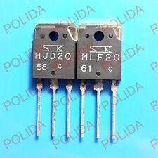 1pair AUDIO Transistor SANKEN TO-3P MJD20/MLE20 MJD20-C/MLE20-C