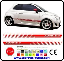 STICKERS FIAT ABARTH 500 AUTOCOLLANTS ADHESIF AUTO