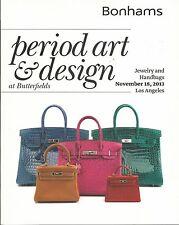 BONHAMS ART DESIGN Handbags Bakelite Jewelry Engeran Coll Chess Sets Catalog 13