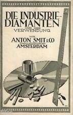 Smit & Co. Amsterdam, l'industrie Diamants & leur utilisation pour 1930 Diamant