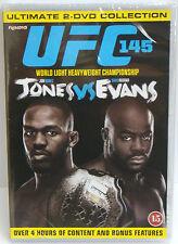 UFC 145 - Jones Vs Evans DVD 2-Disc Ultimate Collection - NEW & SEALED