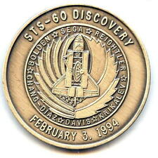 N060        NASA  SPACE  SHUTTLE  COIN /  MEDAL,      DISCOVERY,  STS-60