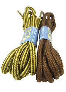 ROUND STRONG BOOTLACES IDEAL FOR KICKERS CAT BOOTS ETC - FREE UK P&P!