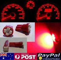 Red LED Dash Gauge Light Kit - Suit Holden Commodore VK