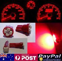 Red LED Dash Gauge Light Kit - Suit Navara D22 1998-2005